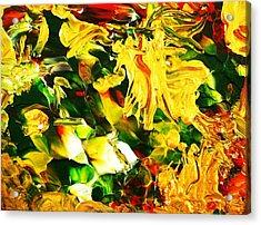 Abundentia Acrylic Print by Carmen Doreal