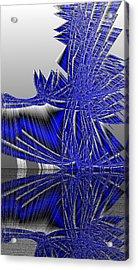 Ac-7-57-#rithmart Acrylic Print by Gareth Lewis