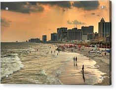 Ac Shore Acrylic Print