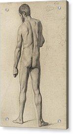 Academic Nude Acrylic Print