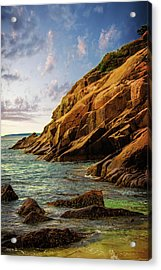 Acadia National Park--maine Acrylic Print by Sherman Perry