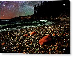 Acadia Nights Acrylic Print by Brent L Ander