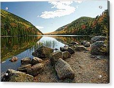 Acadia Scenery Acrylic Print by Alexander Mendoza