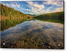 Acadian Reflection Acrylic Print by Rick Berk