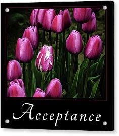 Acceptance Acrylic Print