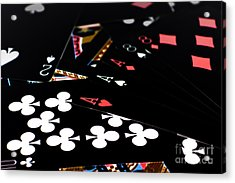 Aces And Eights Acrylic Print