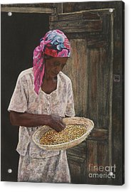 Acklins Corn Acrylic Print