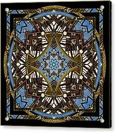 Acme 3 Acrylic Print by Willa Davis