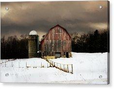 Acrylic Print featuring the photograph Acorn Acres by Julie Hamilton