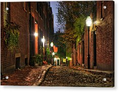 Acorn Street - Boston, Ma Acrylic Print