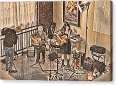 Acoustic Jazz Acrylic Print