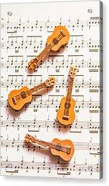 Acoustic Quartet Acrylic Print by Jorgo Photography - Wall Art Gallery