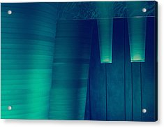 Acrylic Print featuring the photograph Acoustic Wall by Bobby Villapando