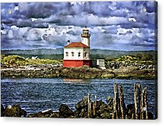 Across From The Coquille River Lighthouse Acrylic Print