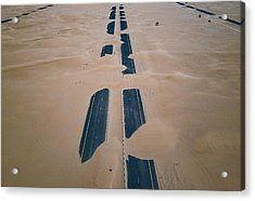 Across Sahara Acrylic Print