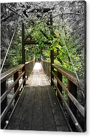 Across The Creek Acrylic Print