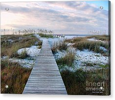 Across The Dunes Acrylic Print
