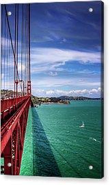 Across The Golden Gate Bridge San Francisco Acrylic Print