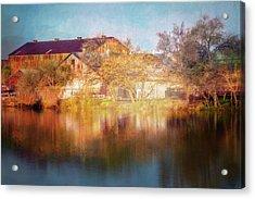 Across The Marina Acrylic Print