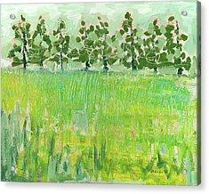Across The Meadow Acrylic Print by Jennifer Lommers