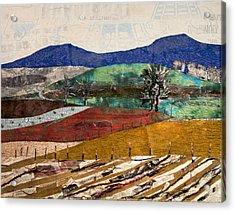 Across The Meadow Acrylic Print