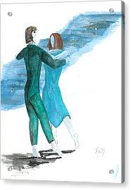 Across The Night... Acrylic Print by Robert Meszaros