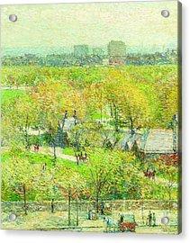 Across The Park Acrylic Print