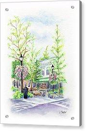 Across The Plaza Acrylic Print