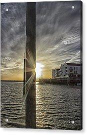 Across The Quay Acrylic Print