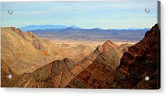 Across The Range Acrylic Print by Nature Macabre Photography