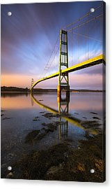 Acrylic Print featuring the photograph Across The Reach by Patrick Downey