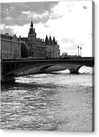Across The Seine Acrylic Print