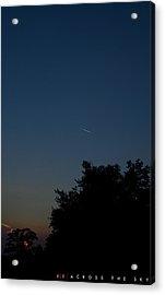 Across The Sky Acrylic Print by Jonathan Ellis Keys
