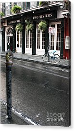 Across The Street Acrylic Print by John Rizzuto