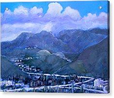 Across The Verdugo Hills Acrylic Print