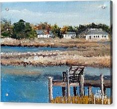 Across The White Oak Acrylic Print