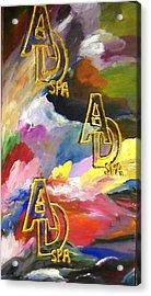 Ad Spa Acrylic Print