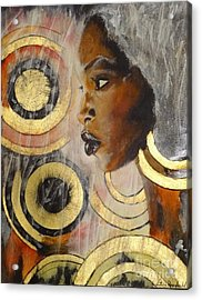 Adaeze The King's Daughter Acrylic Print by Victoria Rosenfield