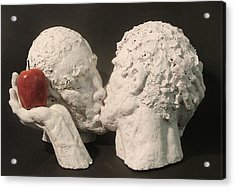Adam And Adam Acrylic Print by Gary Kaemmer