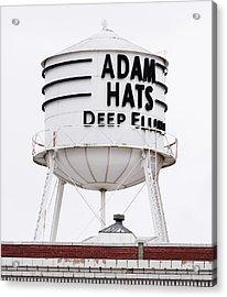 Adams Hats Deep Ellum Texas 061818 Acrylic Print