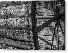 Adam's Mill Water Wheel Acrylic Print