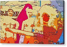 Addicted To Credit Acrylic Print by Jennifer Ott