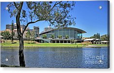 Adelaide Convention Centre Acrylic Print by Stephen Mitchell