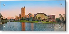 Adelaide Riverbank Panorama Acrylic Print