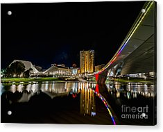 Adelaide Riverbank Acrylic Print