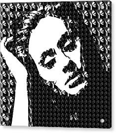 Adele 21 Album Cover Digital Art Acrylic Print by Ryan Dean
