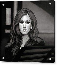 Adele Mixed Media Acrylic Print by Paul Meijering