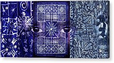 Adire Acrylic Print
