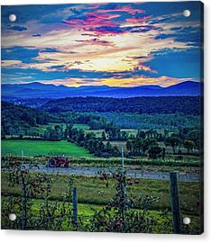 Acrylic Print featuring the photograph Adirondack Country by Kendall McKernon