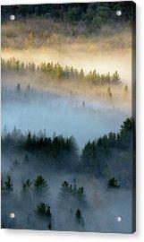 Adirondack Fog Acrylic Print